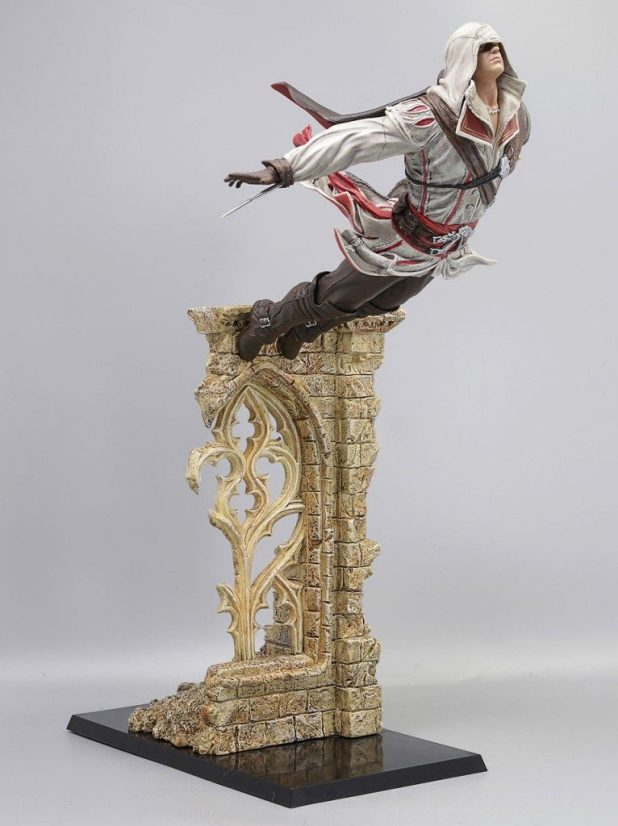 EZIO-Leap-of-Faith-766x1024-766x1024 Une nouvelle figurine de Ezio Auditore - Assassin's Creed 2