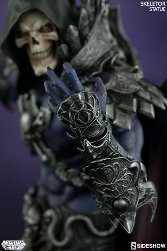 masters-of-the-universe-skeletor-statue-200460-10 Figurine Sideshow - Les maitres de l'univers - Skeletor
