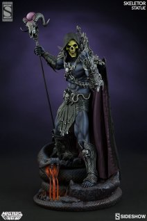 masters-of-the-universe-skeletor-statue-2004601-02 Figurine Sideshow - Les maitres de l'univers - Skeletor