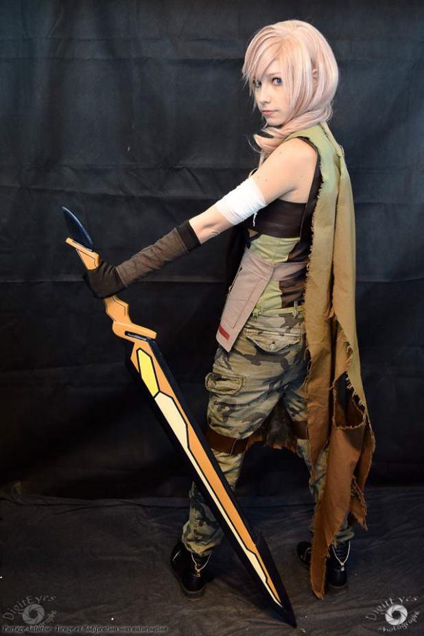 13180839_1095124267200217_1935854165_n Cosplay - Lightning - Final Fantasy #119