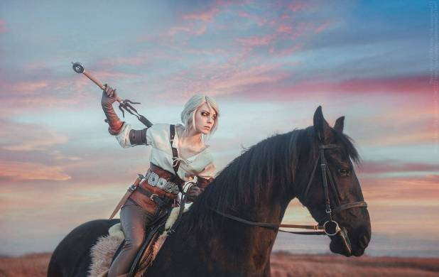 the_witcher_3_wild_hunt__ciri_by_damnavenger-d9y5guy-620x391 Cosplay - Ciri #126