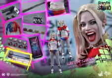 Hot-Toys-Harley-Quinn-4 Suicide Squad - Les figurines de Hot toys