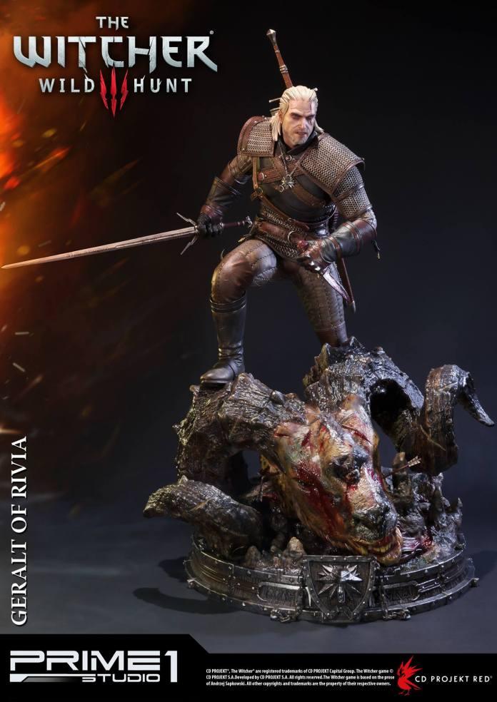 Witcher-3-Geralt-de-Riv-Statue-004 Prime 1 - Une magnifique figurine pour Geralt de The Witcher 3