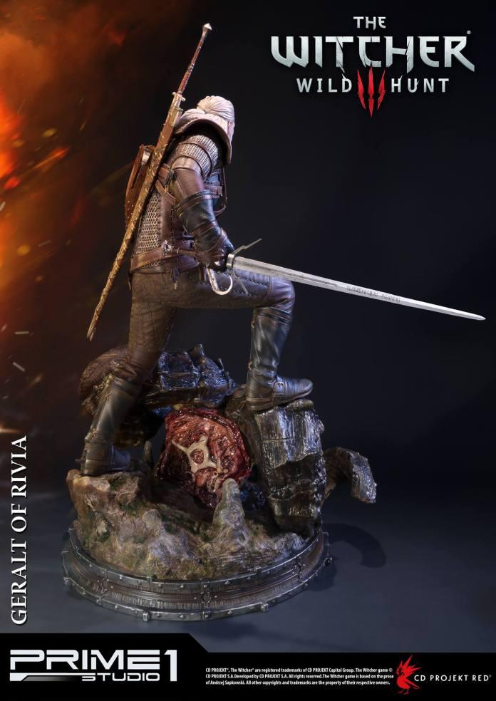 Witcher-3-Geralt-de-Riv-Statue-010 Prime 1 - Une magnifique figurine pour Geralt de The Witcher 3