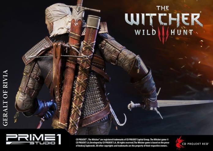 Witcher-3-Geralt-de-Riv-Statue-019 Prime 1 - Une magnifique figurine pour Geralt de The Witcher 3