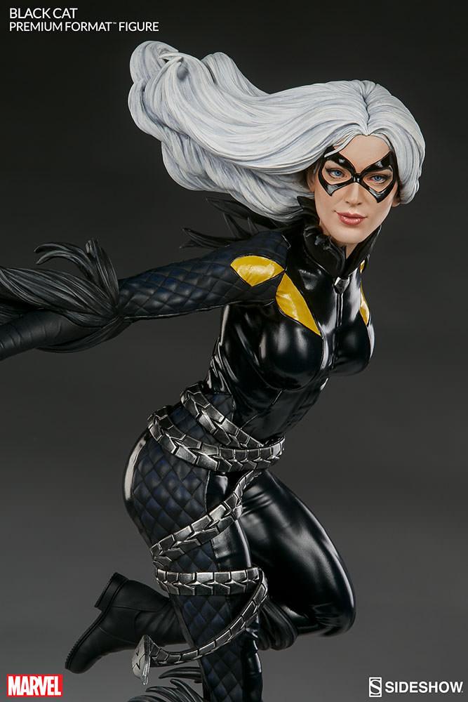 marvel-black-cat-premium-format-300465-09 Figurine – Marvel – Black Cat – Premium Format