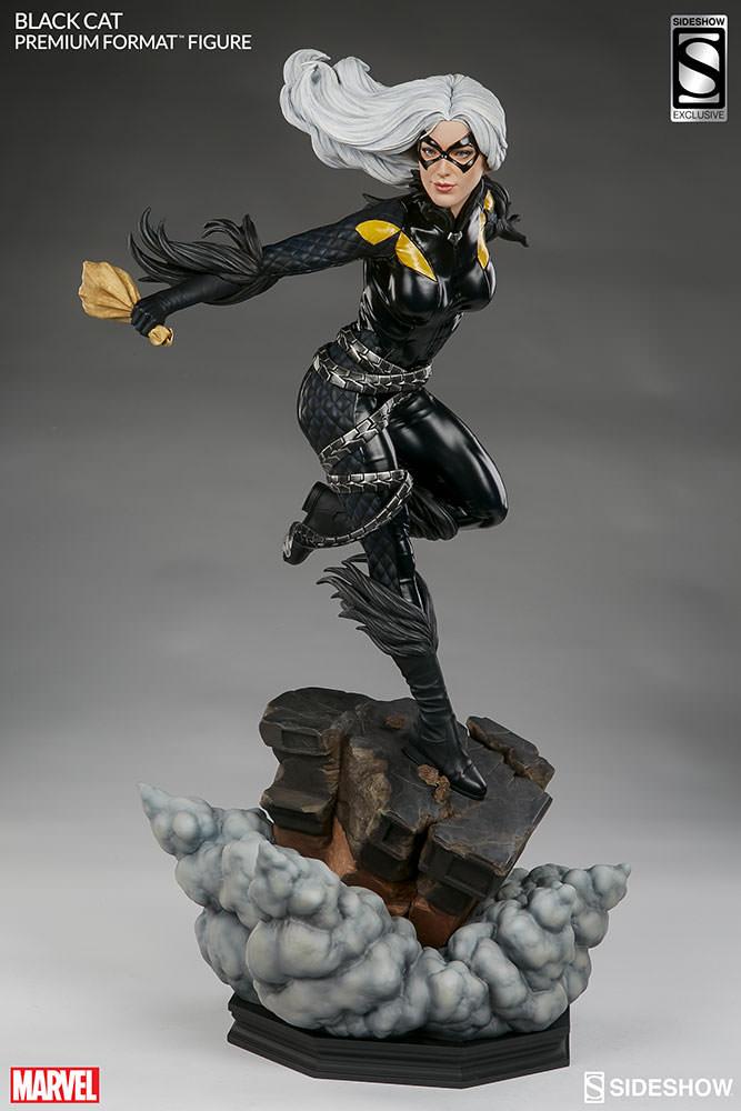 marvel-black-cat-premium-format-3004651-03 Figurine – Marvel – Black Cat – Premium Format