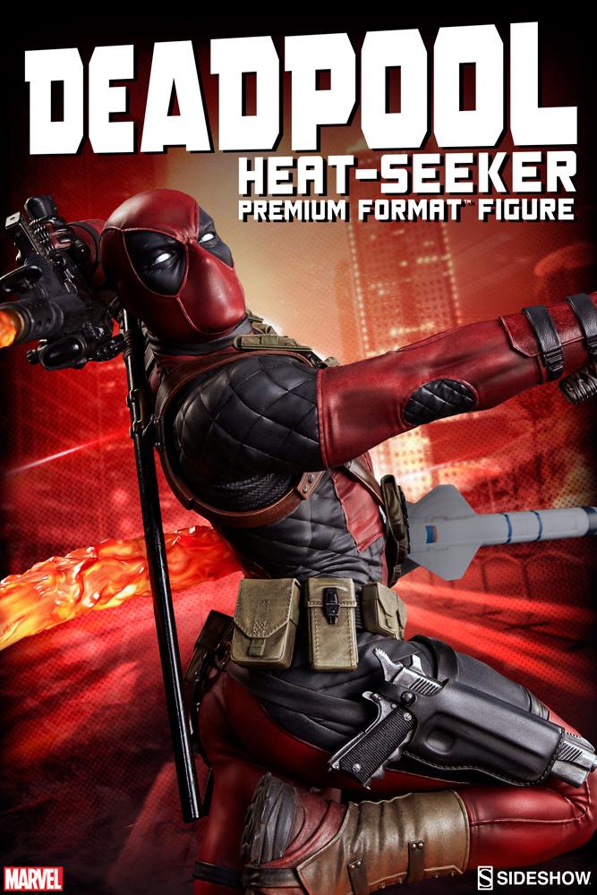marvel-deadpool-heat-seeker-premium-format-feature-300511-01 Figurine - Deadpool Heat-Seeker