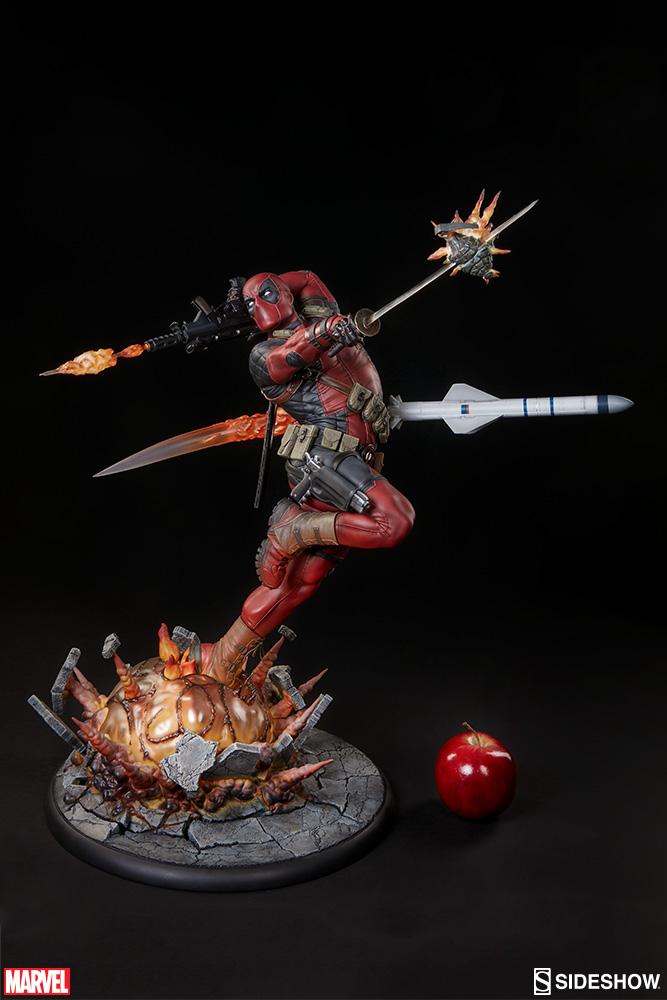 marvel-deadpool-heat-seeker-premium-format-feature-300511-04 Figurine - Deadpool Heat-Seeker