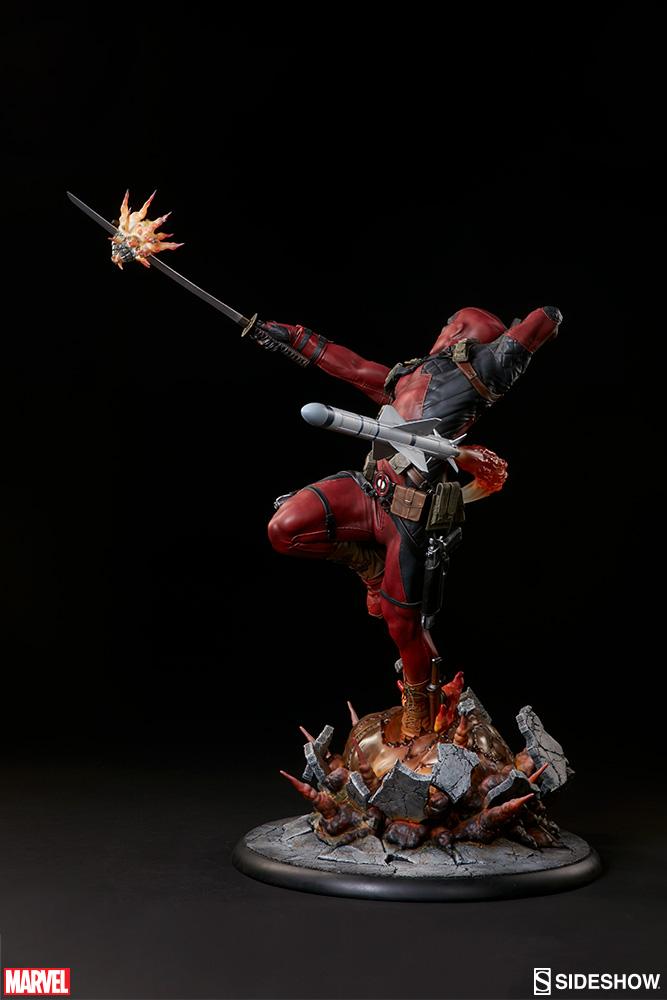 marvel-deadpool-heat-seeker-premium-format-feature-300511-06 Figurine - Deadpool Heat-Seeker