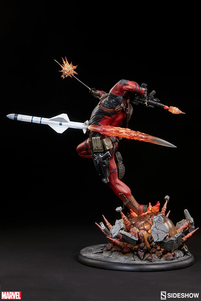 marvel-deadpool-heat-seeker-premium-format-feature-300511-07 Figurine - Deadpool Heat-Seeker
