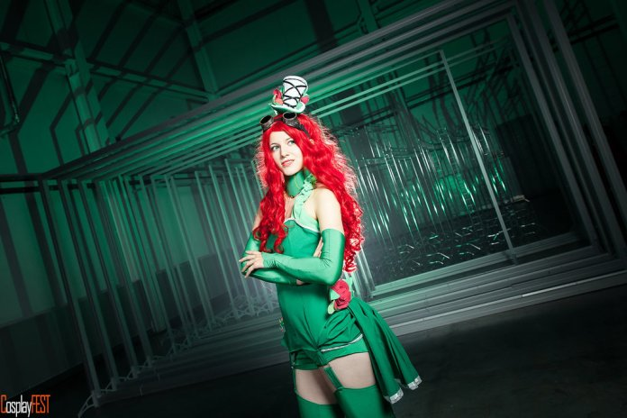 poison_ivy_cosplay_by_kawaielli-daolfhf Cosplay - Poison Ivy Steampunk #135