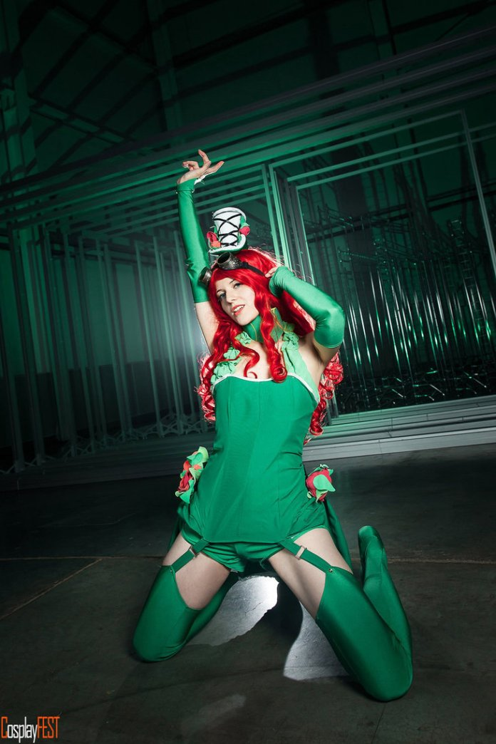 poison_ivy_cosplay_by_kawaielli-daolfmg Cosplay - Poison Ivy Steampunk #135