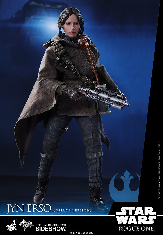 star-wars-rogue-one-jyn-erso-deluxe-version-sixth-scale-hot-toys-902919-01 Figurine - Star Wars Rogue One Jyn Erso Deluxe