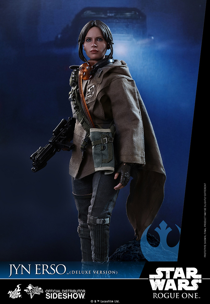 star-wars-rogue-one-jyn-erso-deluxe-version-sixth-scale-hot-toys-902919-05 Figurine - Star Wars Rogue One Jyn Erso Deluxe