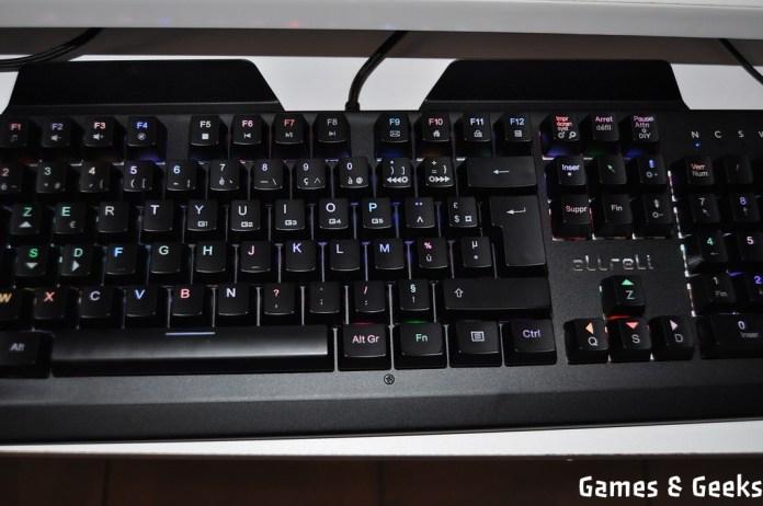 clavier_allreli_DSC_0171 Test du clavier mécanique K643 de Allreli