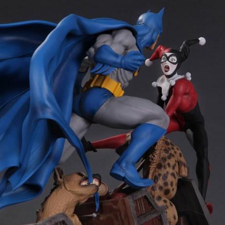 Batman-vs-Harley-Quinn-Battle-Statue-7 Nouvelle sélection de figurines Harley Quinn