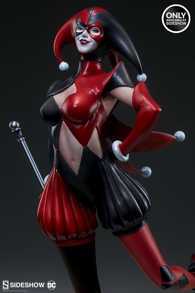 dc-comics-harley-quinn-stanley-artgerm-lau-artist-series-statue-200430-09 Figurines - Harley Quinn - Catwoman et Poison Ivy vues par Artgerm