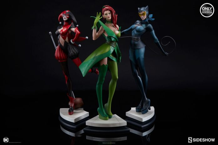 dc-comics-harley-quinn-stanley-artgerm-lau-artist-series-statue-200430-20 Figurines - Harley Quinn - Catwoman et Poison Ivy vues par Artgerm