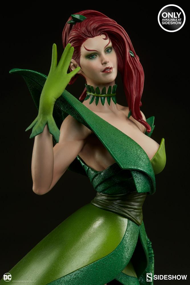 dc-comics-poison-ivy-stanley-artgerm-lau-artist-series-statue-200429-12 Figurines - Harley Quinn - Catwoman et Poison Ivy vues par Artgerm