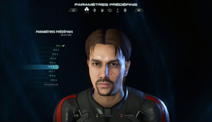 MEA_PersonnalisationPerso TEST - Mass Effect Andromeda