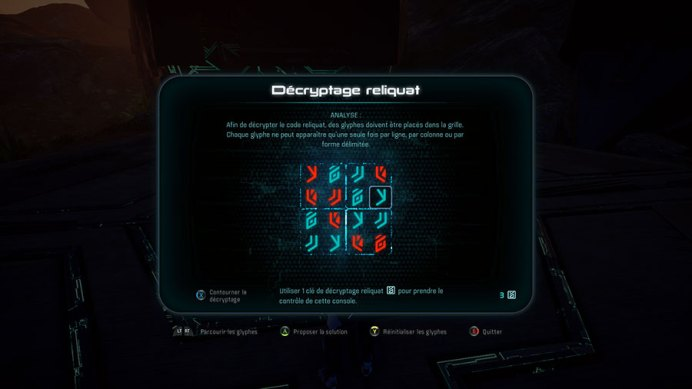 MEA_Puzzle TEST - Mass Effect Andromeda