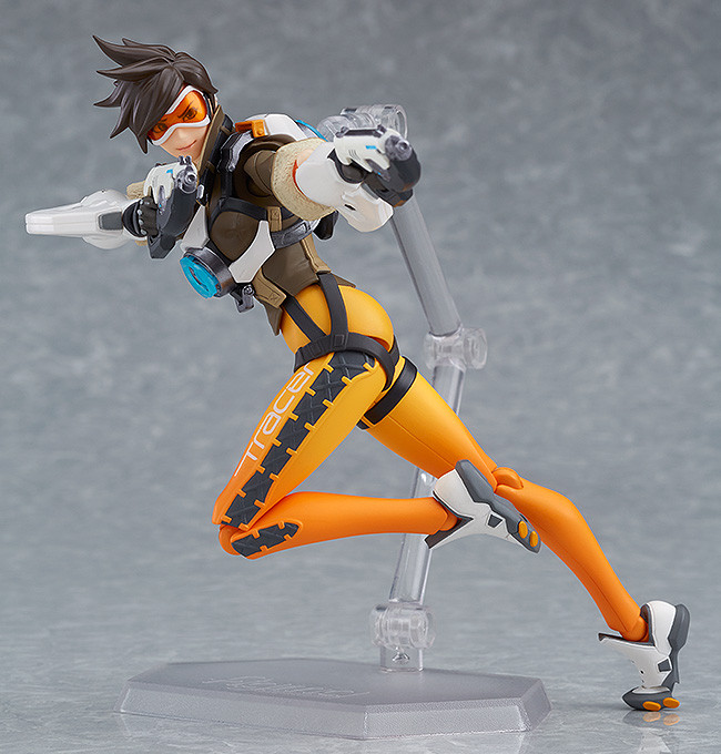 Figurine-tracer-overwatch-2 OverWatch - Une figurine Figma Tracer par Good Smile Company