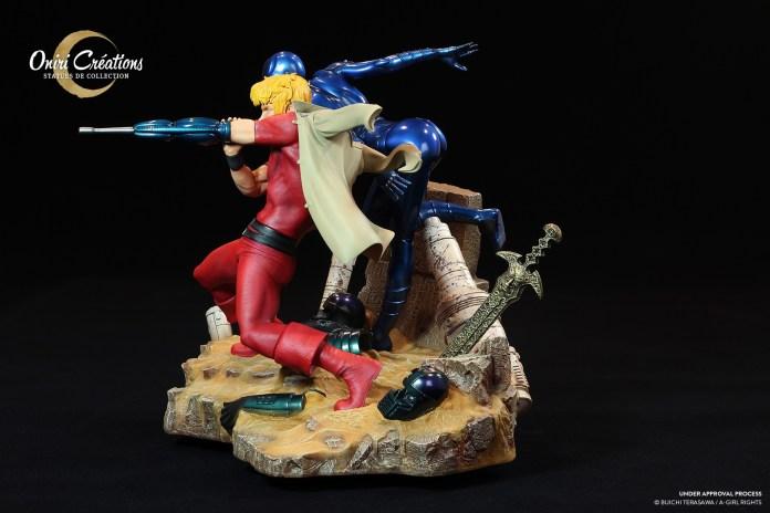 cobra-the-space-pirate_003-696x464 Oniri Créations et sa magnifique figurine Cobra