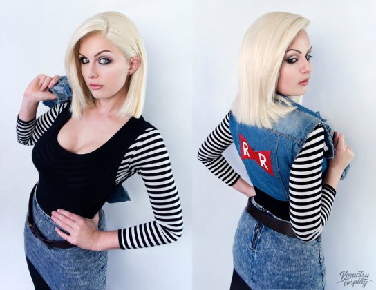 Android-18-Dragon-Ball-Z-by-Kinpatsu-Cosplay MICM 2018 - Présentation de Kinpatsu Cosplay (Magic 2018) #1