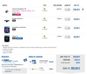 Screenshot-2017-11-17-Panier-300x255 Bon Plan - Casque Playstation VR +  Skyrim VR à 199.99€ (voire 179.99€ si paypal)