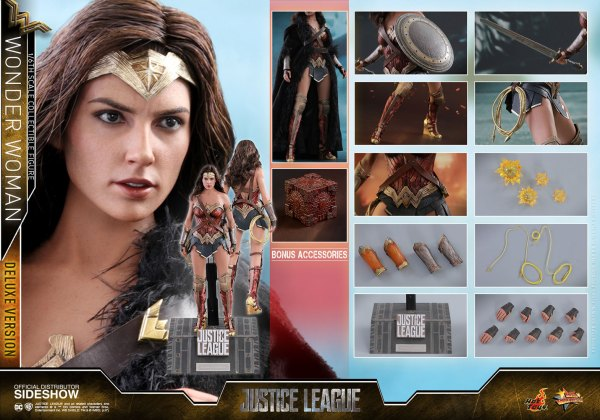 dc-comics-justice-league-wonder-woman-deluxe-sixth-scale-hot-toys-903121-26 Figurine - Wonder Woman Deluxe Version Sixth-Scale Figure