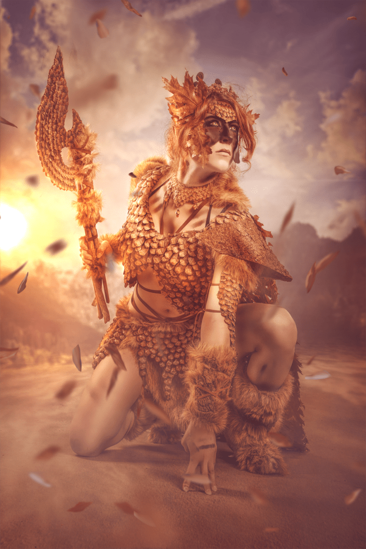 wild_elf__protecting_nature_by_mowkycosplay-dax0a35 MICM 2018 - Présentation de Mowky Cosplay (Magic 2018) #13