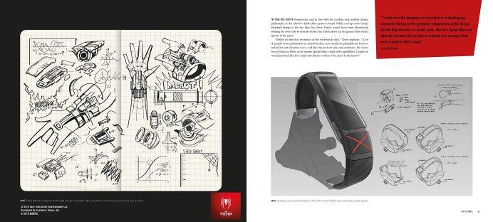 artbook-marvel-spider-man-ps4-page-3 Un peu de lecture avant la sortie de SpiderMan sur PS4
