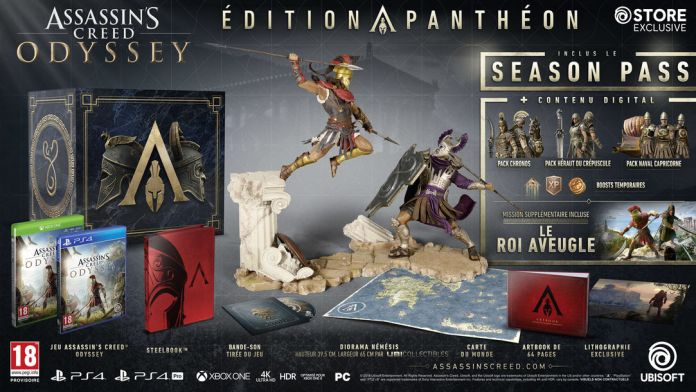 aco-edition-pantheon Assassin's Creed Odissey - Les éditions spéciales et collector