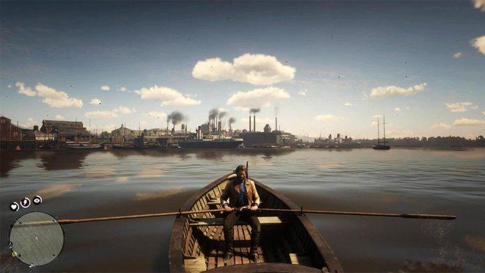 barque_usine-696x392 Mon avis sur Red Dead Redemption II - Paré pour la grande épopée ?