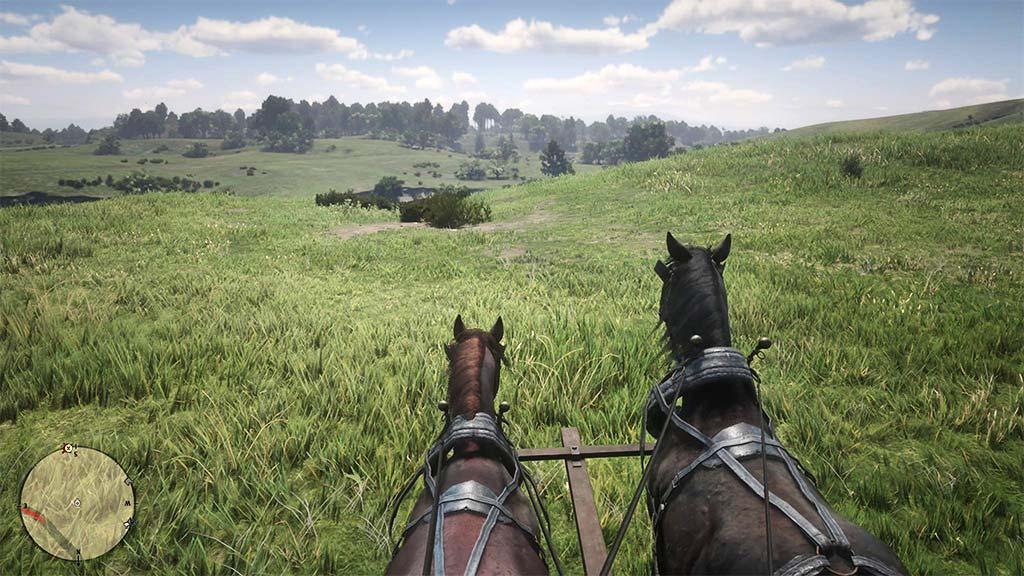 paysage_herbe2 Mon avis sur Red Dead Redemption II - Paré pour la grande épopée ?
