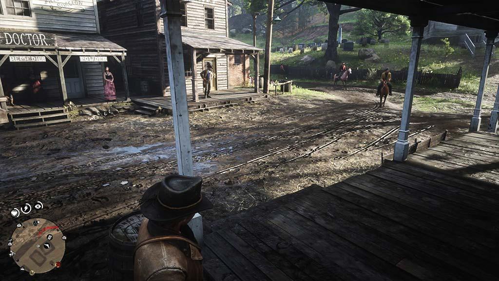 ville_boue Mon avis sur Red Dead Redemption II - Paré pour la grande épopée ?