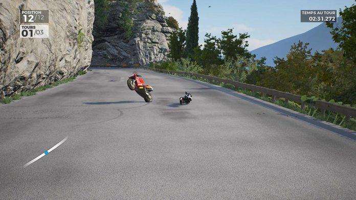 moto_chute2 Mon avis sur Ride 3 - Un opus fracassant, enfin !