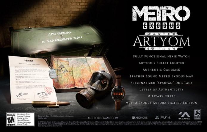 Metro-Exodus-Master-Artyom-Edition Metro Exodus - Les éditions collector et limitées