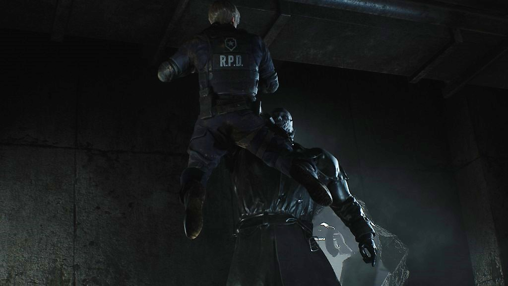 RE2_MisterX-1024x576 Mon avis sur Resident Evil 2 Remake - Le cauchemar renaît