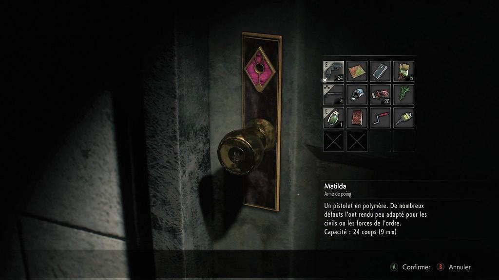 RE2_PorteCarreaux-1024x576 Mon avis sur Resident Evil 2 Remake - Le cauchemar renaît