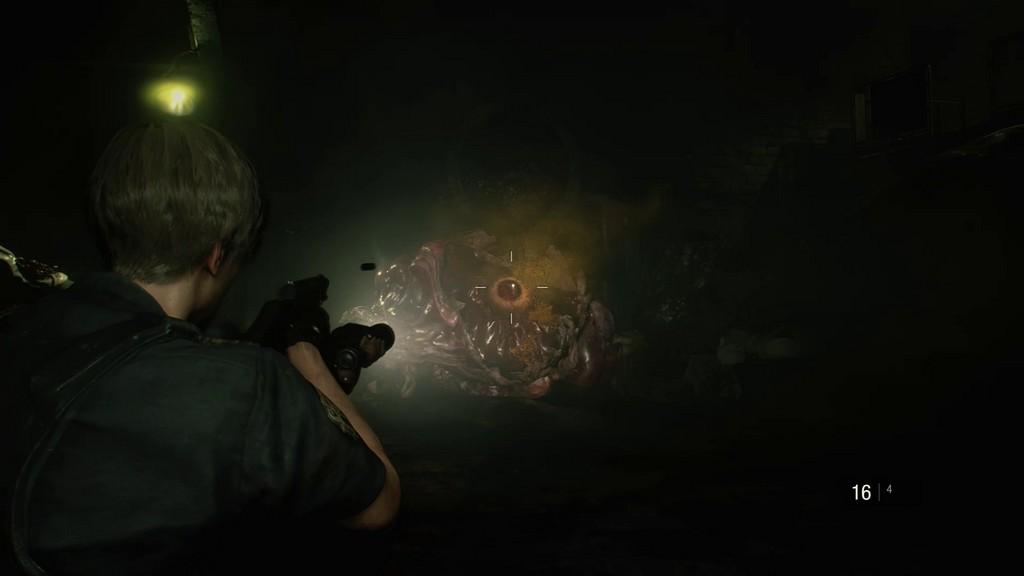 RE2_ViseeImprécis-1024x576 Mon avis sur Resident Evil 2 Remake - Le cauchemar renaît