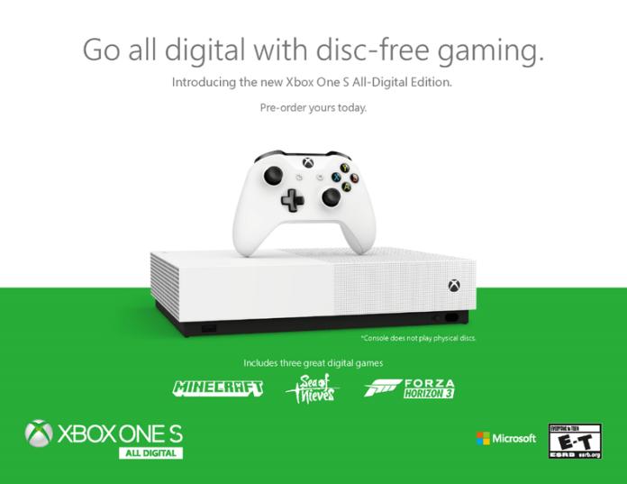 xboxonesalldigital-f514e Baisse de Prix chez Amazon -  Xbox One S All-Digital