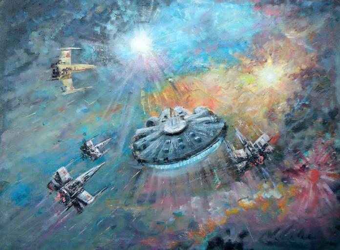 star-wars-paintings-02 May The 4th Be With You