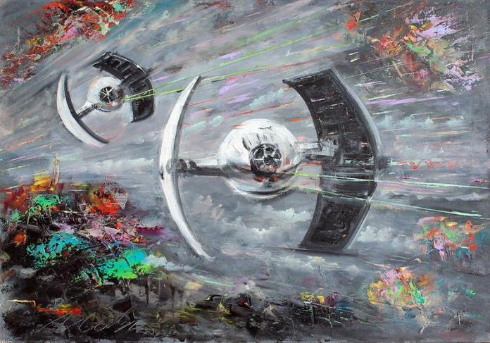 star-wars-paintings-05 May The 4th Be With You