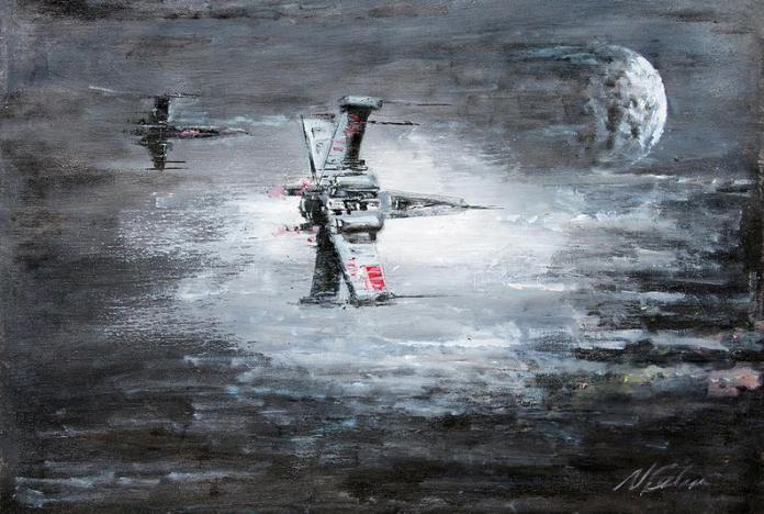 star-wars-paintings-09 May The 4th Be With You