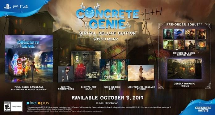 Concrete-Genie-Digital-Deluce-Edition Les sorties du mois d'Octobre 2019