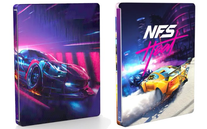 Need-for-Speed-Heat-steelbook Need for Speed Heat - L'édition Collector