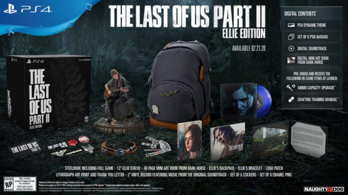 The-Last-Of-Us-Part-II-Ellie-Edition-1024x575 The Last of Us Part II  - Les éditions spéciales et collector - Sortie : 19/06/2020