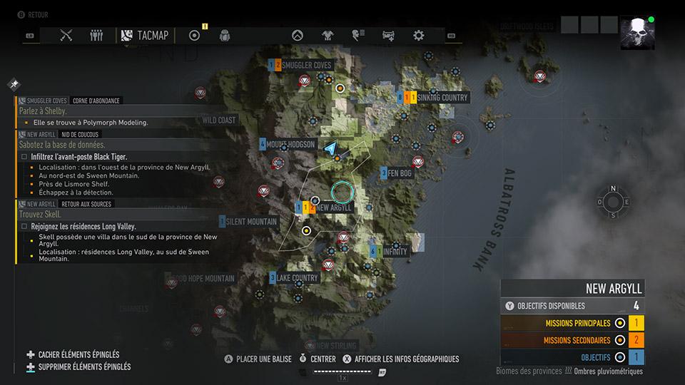GRB_Map Mon avis sur Ghost Recon Breakpoint - Survivez comme un Ghost
